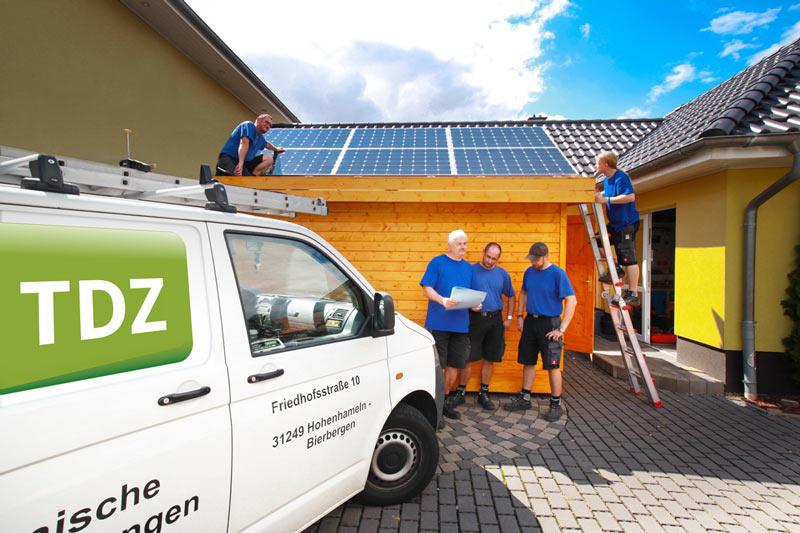 infotag strom sparen nutzen speichern tdz photovoltaik in peine hildesheim hannover und. Black Bedroom Furniture Sets. Home Design Ideas