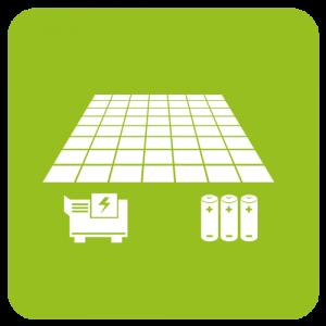 Autark mit Photovoltaik und Speicher